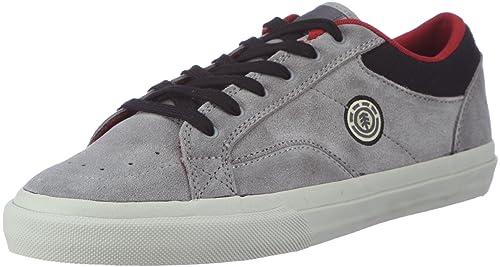 Element HUNTLEY EHUNJ1 01A 6017 - Zapatillas de skate de ante para hombre, color gris, talla 40.5: Amazon.es: Zapatos y complementos