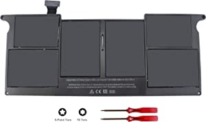 """Angwel 7.6V 40WH Replacement Battery for Apple MacBook Air 11"""" A1406 (2011) A1465 (2012) A1465 (Mid 2012) - 1 Year Warranty"""
