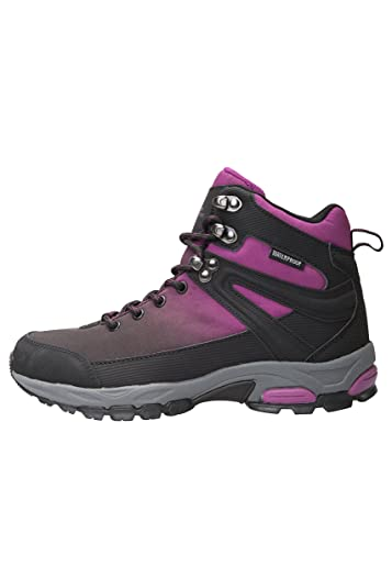 Amazon.com | Mountain Warehouse Retrieve Womens Softshell Boots -Ladies Summer Shoes Black 7 M US Women | Backpacking Boots