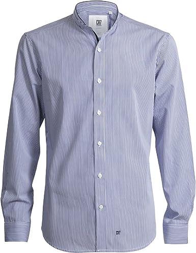 CR7 CRISTIANO RONALDO – Camisa Camiseta Slim Fit High Collar ...