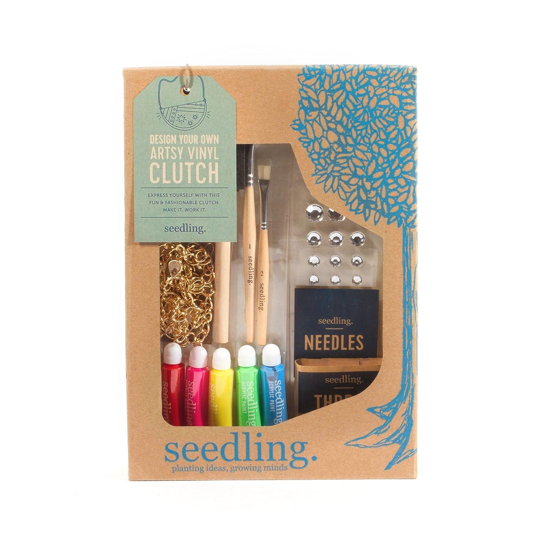 Seedling Make Your Own Artsy Vinyl Clutch Activity Kit