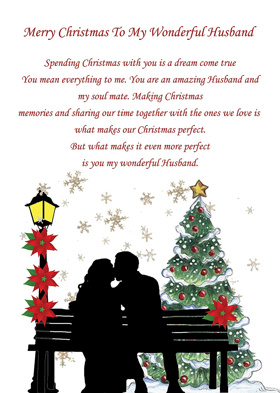 Husband Christmas Card: Amazon.co.uk: Office Products