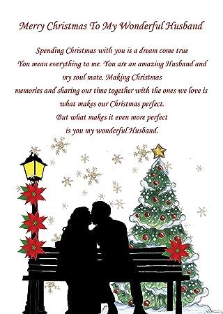 Husband Christmas Cards Uk.Husband Christmas Card