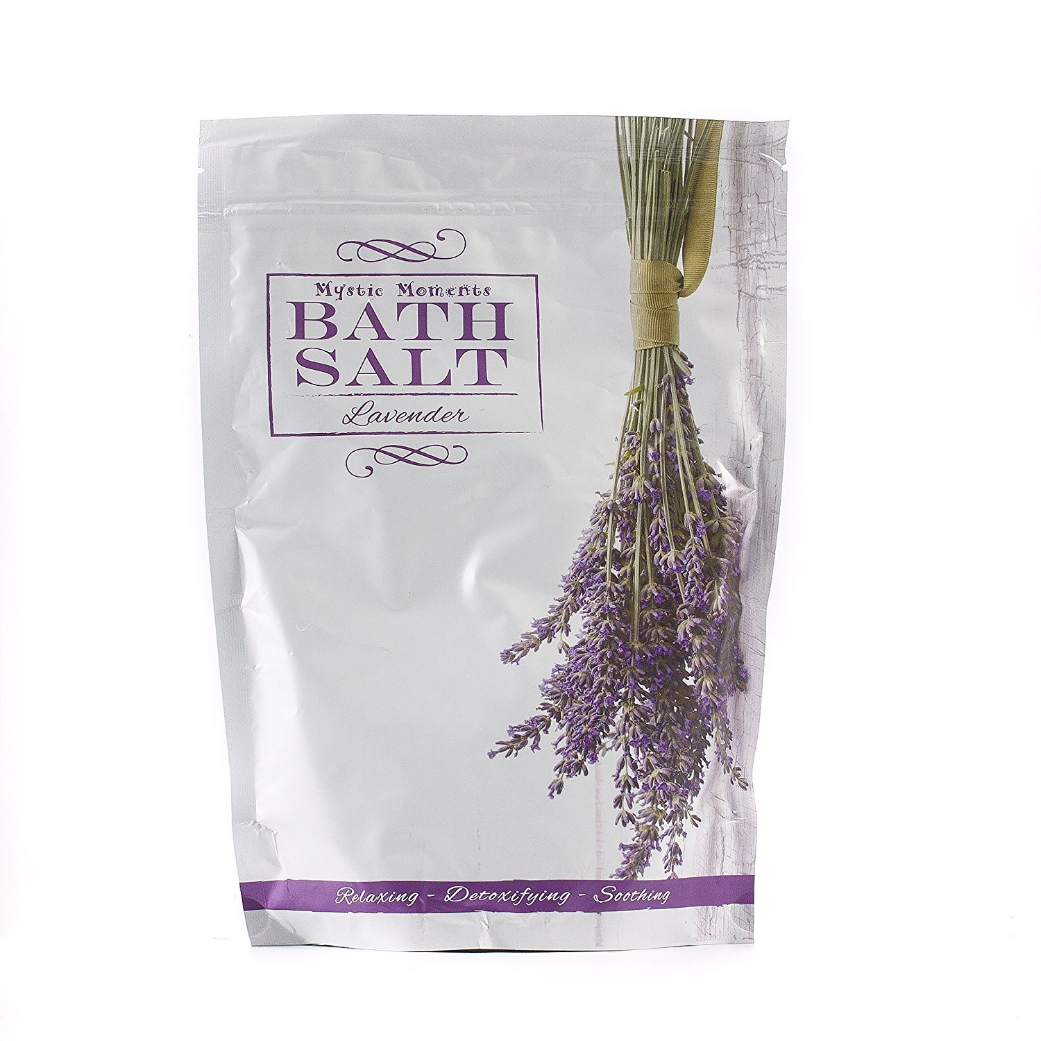 Bath Salt - Lavender - 1Kg Mystic Moments SALTLAVE1K