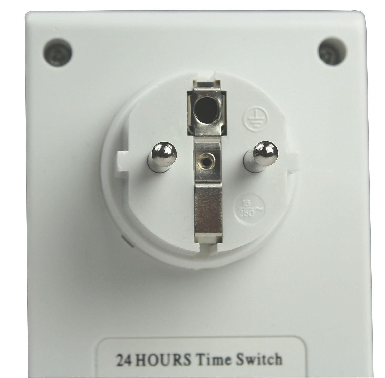 81x3UR61gkL._SL1500_ Wunderbar Wie Funktioniert Eine Mechanische Zeitschaltuhr Dekorationen