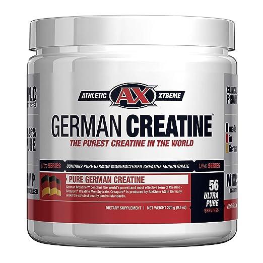 Amazon.com: Creatina alemana (creapura pura, el monohidrato ...
