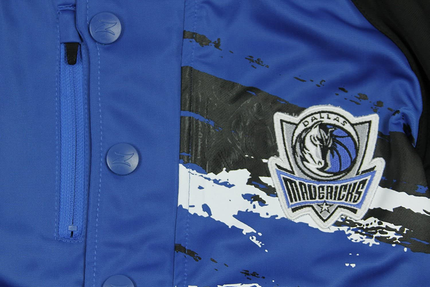 Dallas Mavericks NBA Mens Classic Look Splash Track Jacket