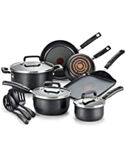 T-fal C111SC Signature Nonstick Thermo-Spot Heat Indicator Cookware Set