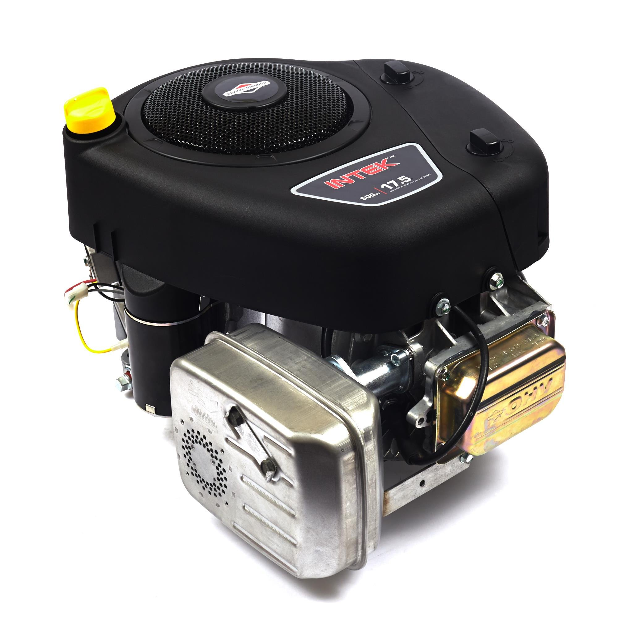 Briggs & Stratton 31R907-0007-G1 500cc 17.5 Gross HP Engine with 1-Inch by 3-5/32-Inch Length Crankshaft Tapped 7-16-20-Inch by Briggs & Stratton