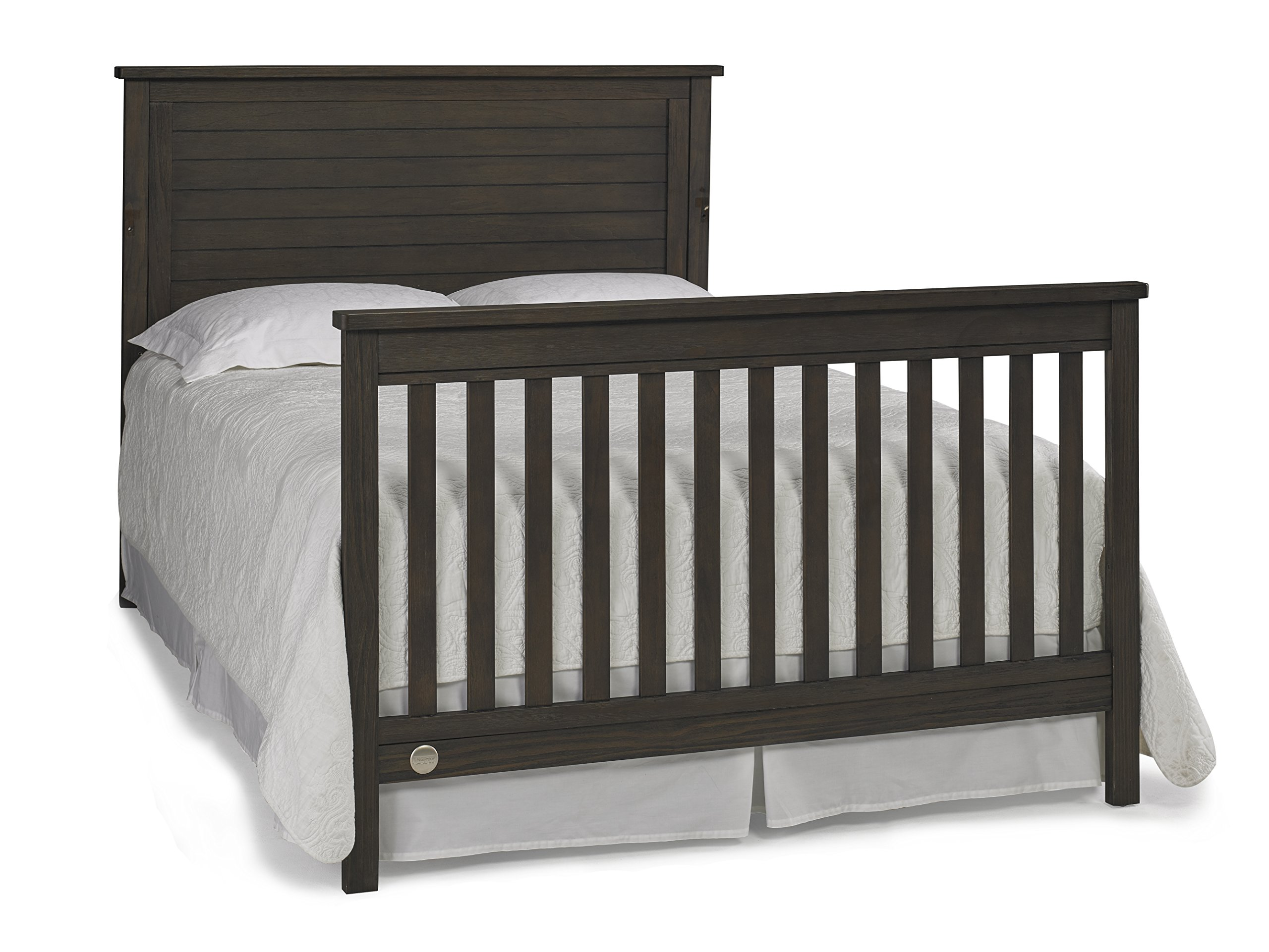 Fisher-Price Quinn 4 in 1 Convertible Crib, Wire Brushed Brown by Fisher-Price (Image #8)