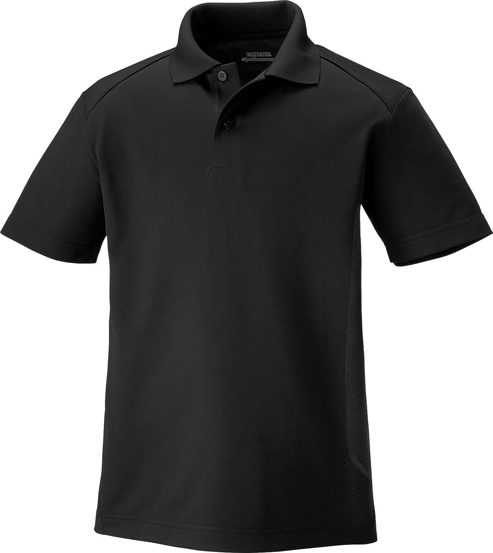 Small 65108 Extreme Youth Snag Protection Polo Shirt Black