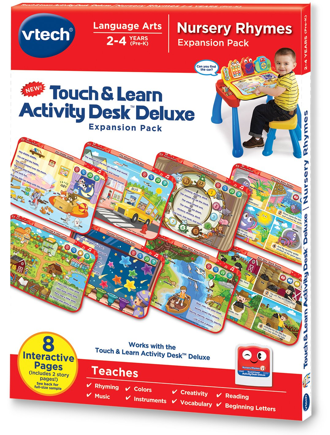 VTech Touch & Learn Nursery Rhymes Activity Pack (English Version) V Tech 80-221000