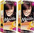 Garnier - Movida - Coloration temporaire sans ammoniaque Auburn - 40 Auburn Lot de 2
