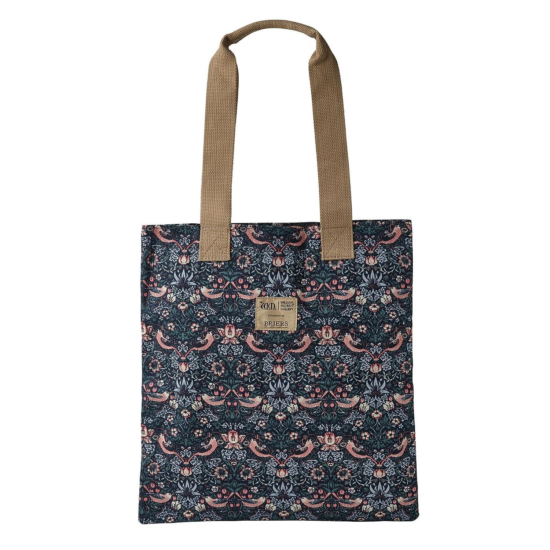 William Morris Strawberry Thief Cotton Shoulder Bag by Briers