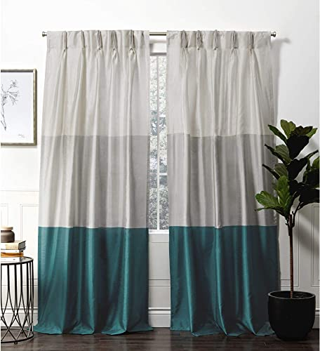 Exclusive Home Curtains Chateau Pinch Pleat Curtain Panel