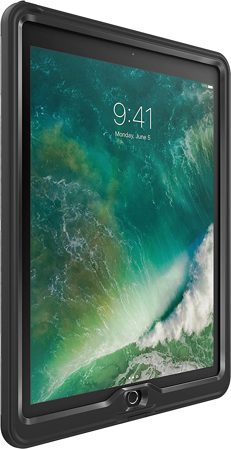 "LifeProof NÜÜD Series Waterproof Case for iPad Pro (12.9"" - 2nd Gen) - Retail Packaging - Black"