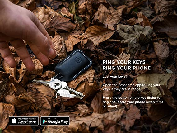 Safedome Classic Bluetooth Tracker Combo One Classic Card One Key Finder Navigation