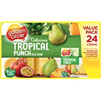 Golden Circle Tropical Fruit Drink Value Pack, 6 x 250ml