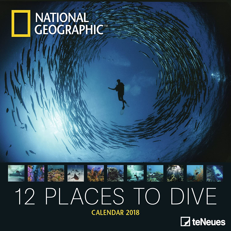 Calendario 2018 National Geographic Plongee bajo marino ...