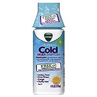 Vicks Children's Cold Multi-Symptom Relief from Cough, Sore Throat, Fever, 6 fl...