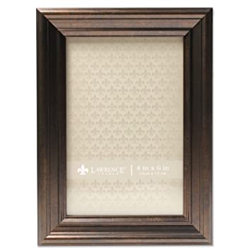 Amazoncom Lawrence Frames 535546 4x6 Classic Detailed Oil Rubbed