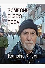 Someone Else's Poem Kindle Edition