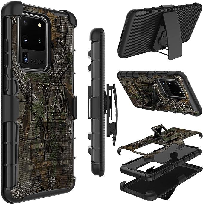 5G AChris Funda Compatible con Samsung Galaxy S20 - Rojo con Vidrio Templado Pantalla Protector Plastico Case Ultra-Slim Absorci/ón de Choque Resistente Anti- Ara/ñazos para Samsung Galaxy S20 5G