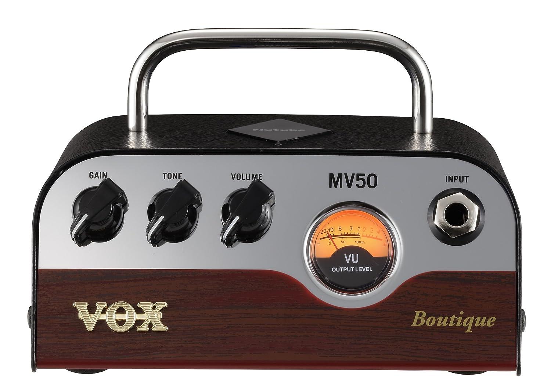 VOX 新真空管Nutube搭載 ギターアンプヘッド MV50 Boutique タイプ B07C3JXXWC Boutique タイプ-