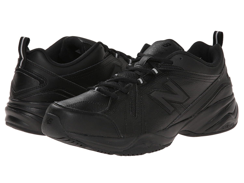 [new balance(ニューバランス)] メンズトレーニング競技用シューズ靴 MX608v4 Black/Black 7 (25cm) 4E - Extra Wide B07DP6K368