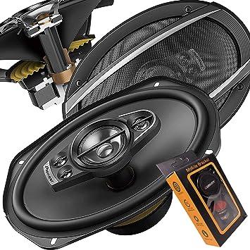 TS-A6996R New Pioneer TS-A6996S 650 Watts 6 X 9 5-Way 4 ohms Full Range Coaxial Car Audio Stereo Amplifier Bass Woofer Loud Speakers 6X9 W//Free ALPHASONIK Earbuds