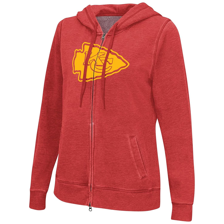 1b01b5f4 Amazon.com : G-III Sports Kansas City Chiefs Women's Powerplay Full ...