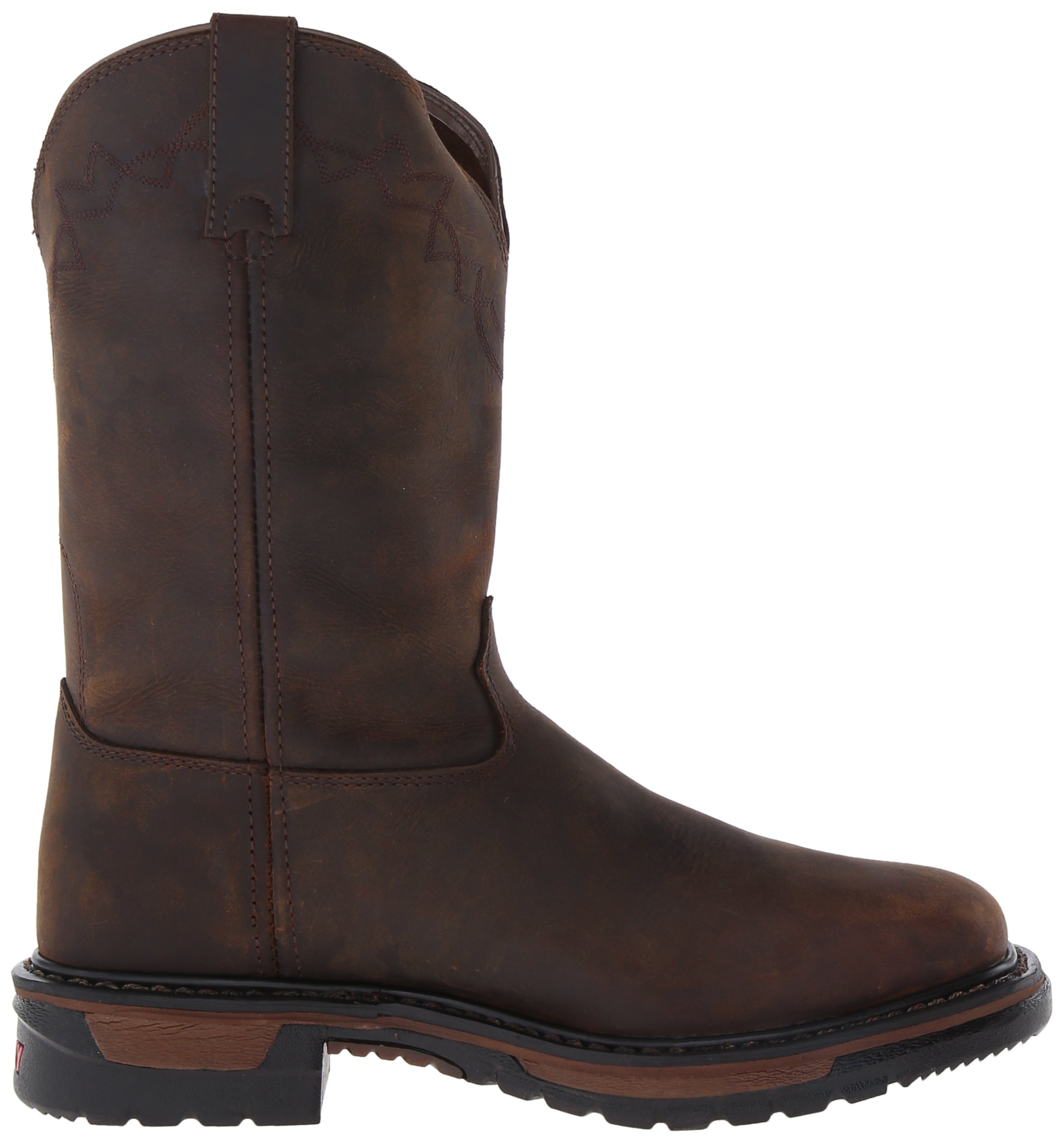 Rocky Men's RKW0117 Boot, Dark Brown, 10 M US by Rocky (Image #6)
