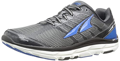 Altra Men's Provision 3 Trail Runner, Charcoal/Blue, ...