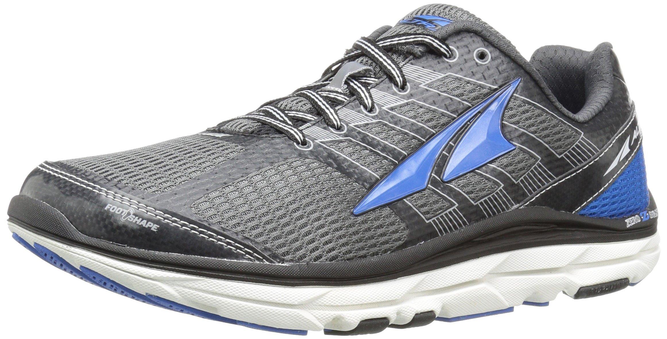 Altra Men's Provision 3 Road Running Shoe, Charcoal/Blue - 12 D(M) US
