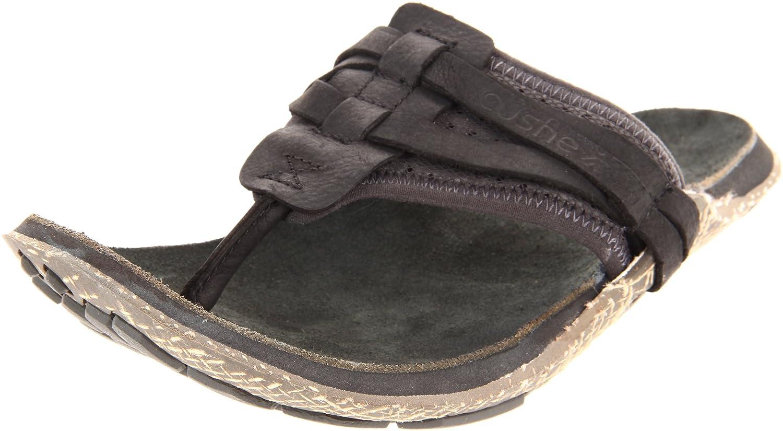 b5b8327f5cb4 Cushe Mens Manuka Wrap Fashion Sandals UM00678 Black Ink 6 UK