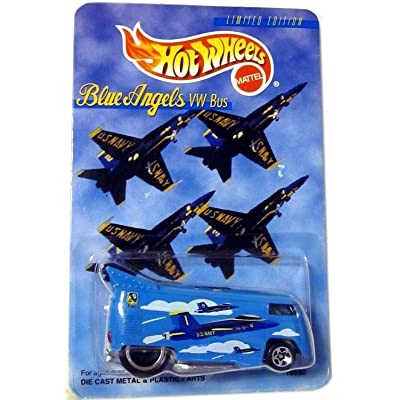 Hot Wheels Blue Angels VW Bus: Toys & Games