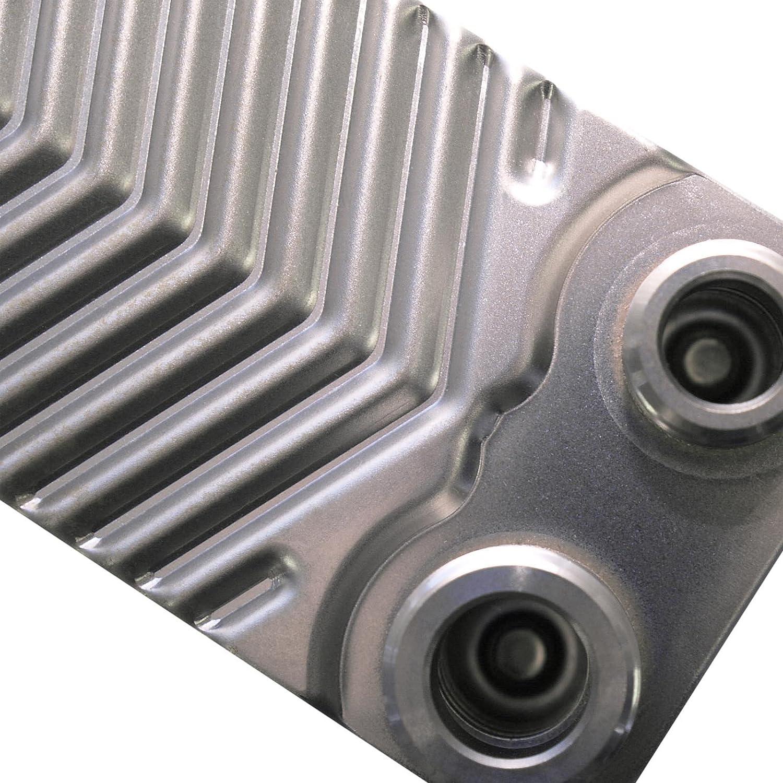 Hrale /Échangeur de chaleur thermique inox 10 plaques max 22 kW Eau Solaire