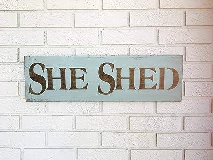 Adonis554Dan She Shed She Shed Signhe Shed Decor Potting Shed Signhe Shed  Door Signs Garden Shed