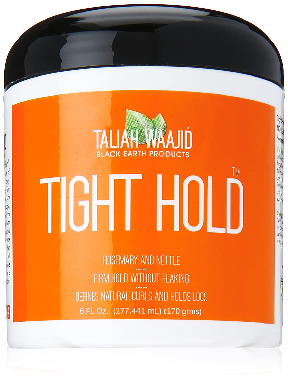 Taliah Waajid Black Earth Products Lock It Up Tight Hold, 6 Ounce Atlas Ethnic 815680001250