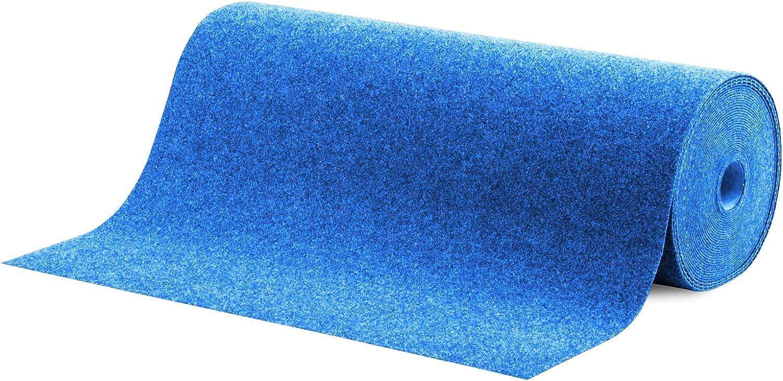 Jardin etc 200x200cm | Bleu casa pura Tapis Gazon Artificiel au m/ètre terrasse Balcon Nombreuses Couleurs au Choix Moquette ext/érieure