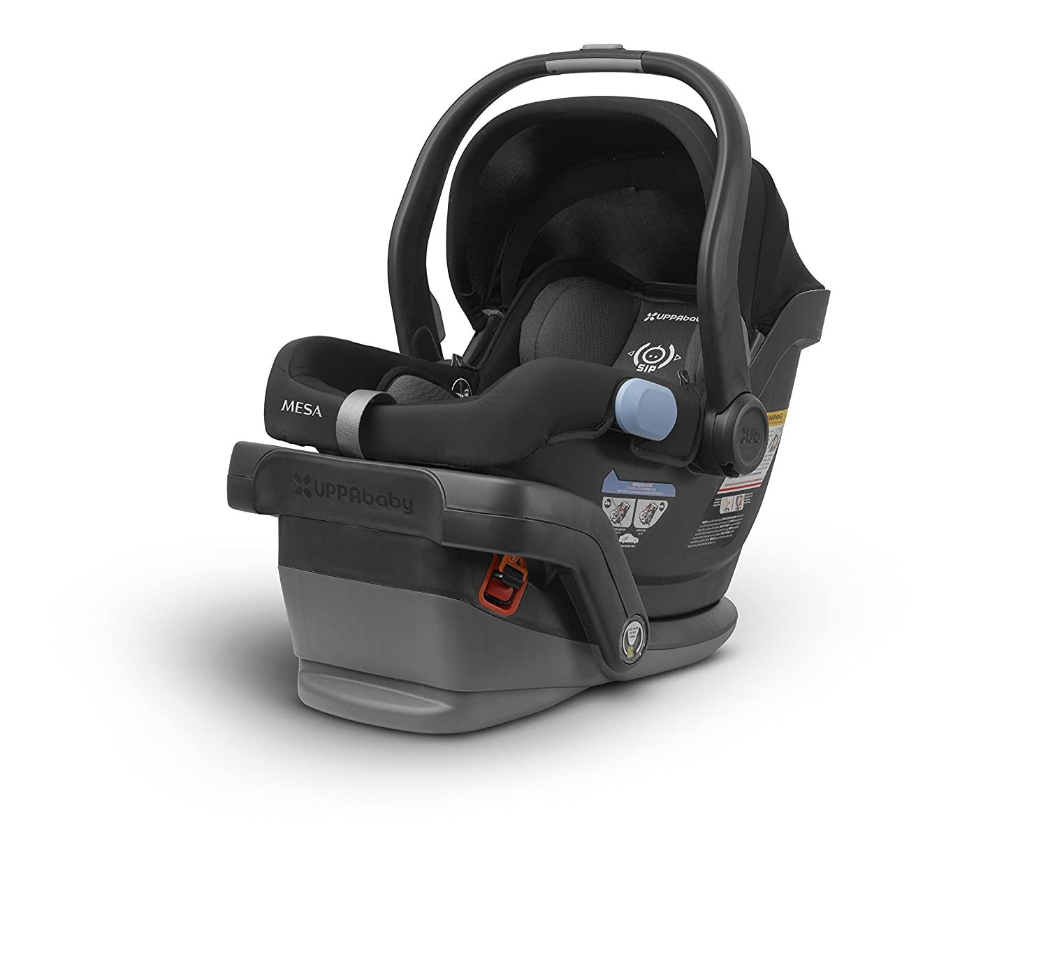 2018 UPPAbaby MESA Infant Car Seat -Jordan (Charcoal Melange) Merino Wool Version/Naturally Fire Retardant 1017-MSA-US-JOR
