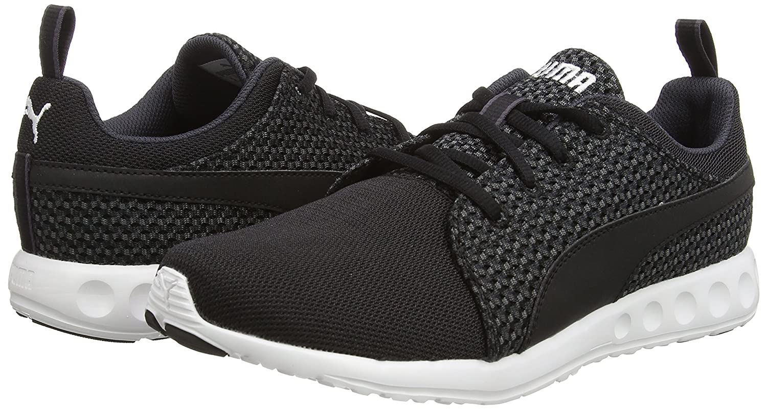 e685bd679b1632 Puma Men s Carson Runner Knit Periscope and Black Mesh Running Shoes - 8 UK  India (42 EU)  Buy Online at Low Prices in India - Amazon.in