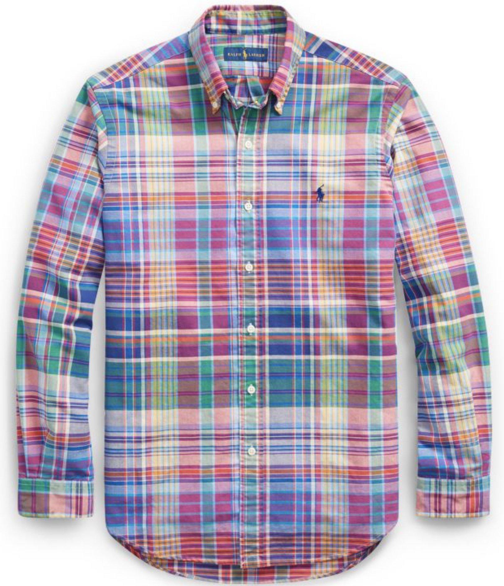 Polo Ralph Lauren Men's Long Sleeve Oxford Button Down Shirt-VenetionRuby-M