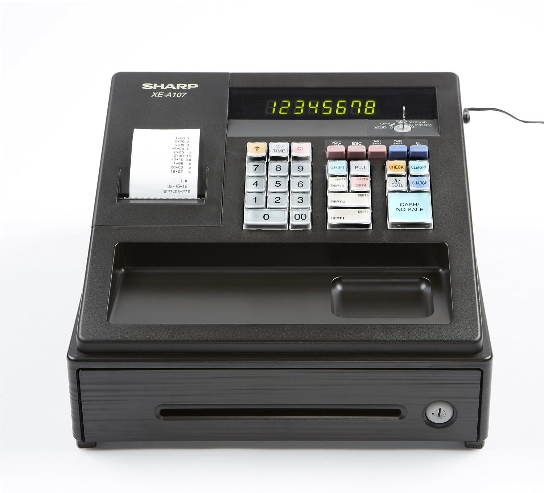 Amazon.com : Sharp XEA107 Entry Level Cash Register with LED Display :  Electronics