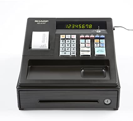 amazon com sharp xea107 entry level cash register with led display rh amazon com Sharp Cash Register ManualDownload sharp cash register xe-a101 user manual