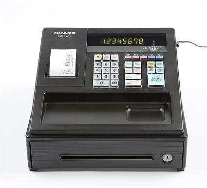 amazon com sharp xea107 entry level cash register with led display rh amazon com sharp xe-a106 cash register user manual sharp xe-a106 user manual