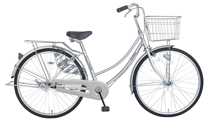 marukin(マルキン) 完全組立 27インチ自転車 LEDオートライト B077YWCKNZシルバー