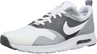 Nike Air Max Tavas, Running Entrainement Homme Gris (White