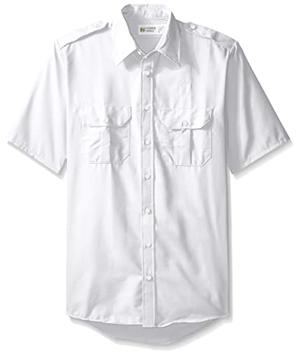 b119e7f3aa1 Horace Small Men s Big and Tall Classic Short Sleeve Security Shirt  Amazon. com.au  Fashion