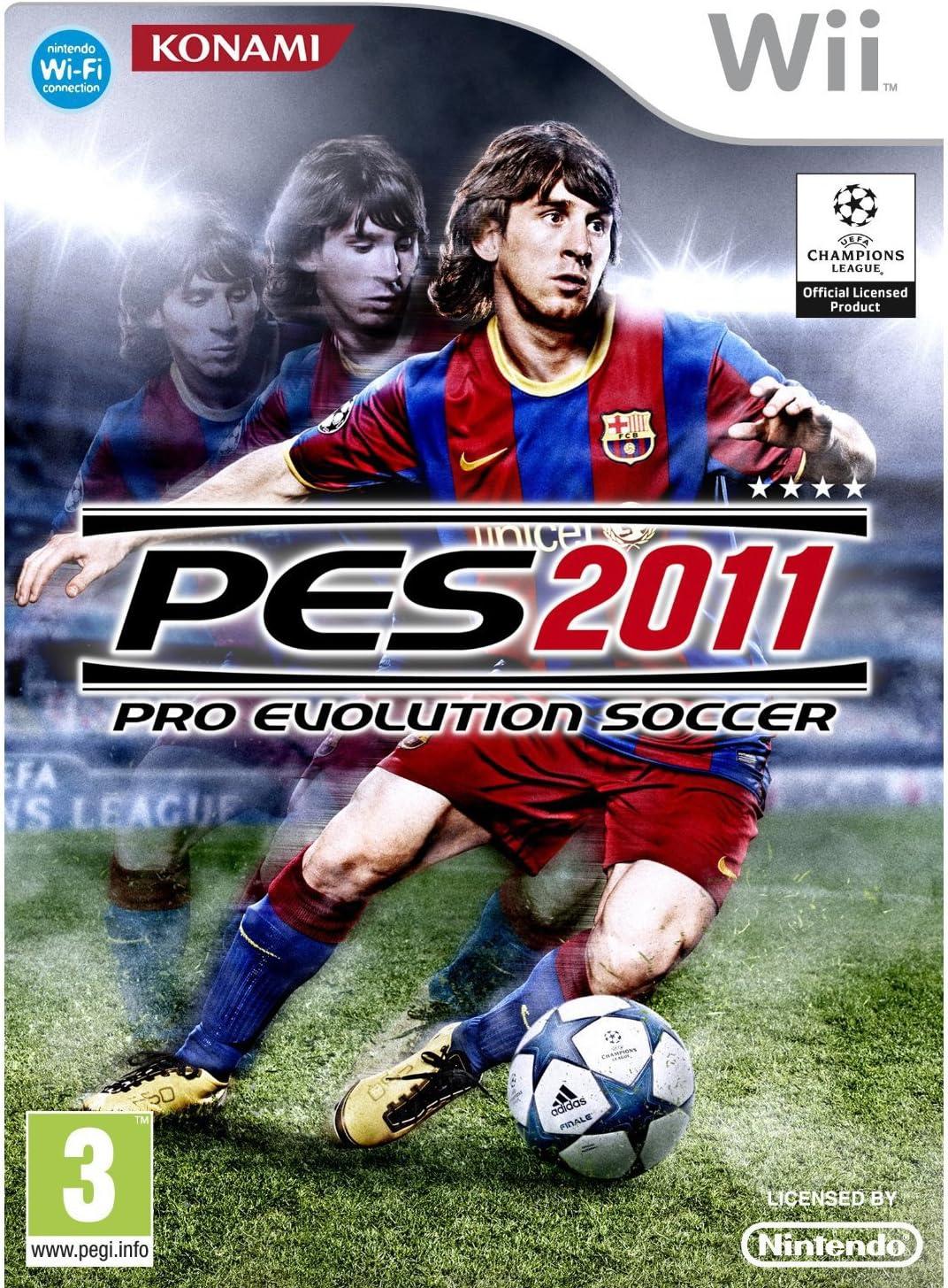Pes 11 : Pro Evolution Soccer 2011: Amazon.es: Videojuegos
